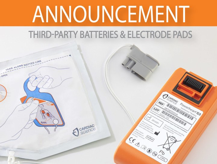 Announcement PAD Batteries